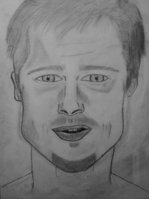 Brad Pitt par MissGolightly